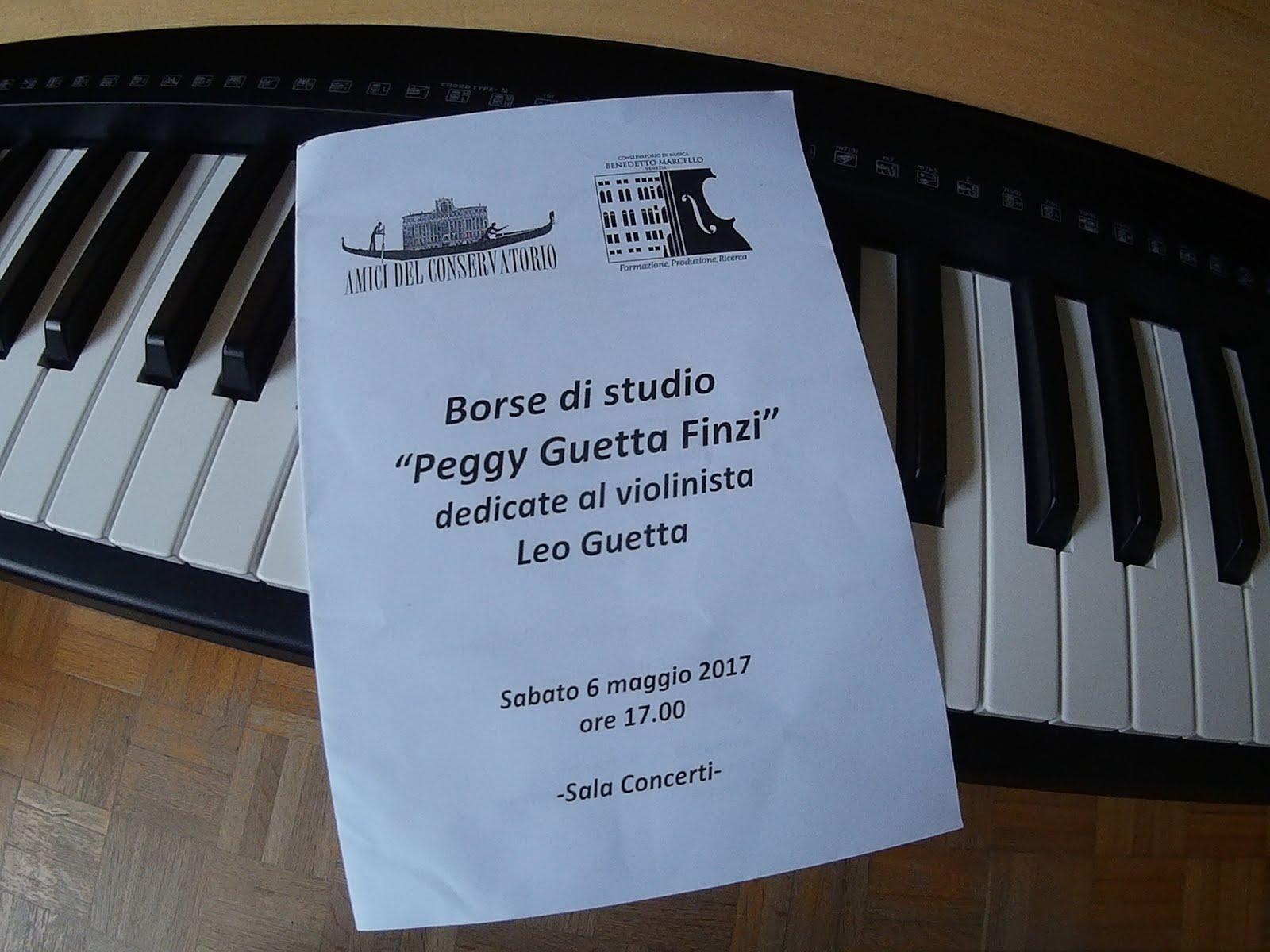Borsa di Studio Peggy Guetta Finzi 2017
