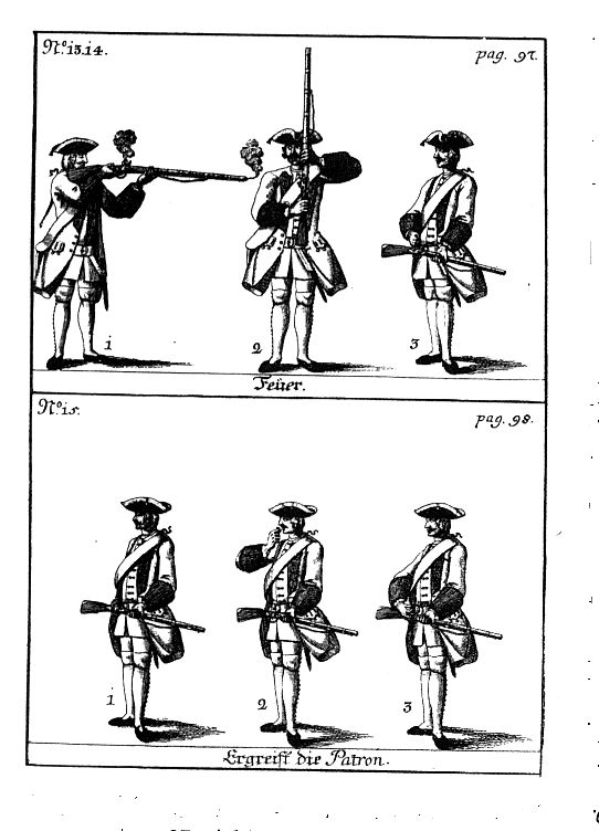 wars of louis quatorze  austrian manual of arms for the