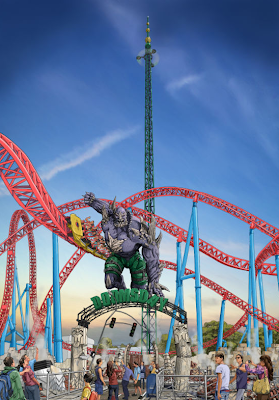Potential Record Breaking Ride Pondered For Warner Bros Movie World