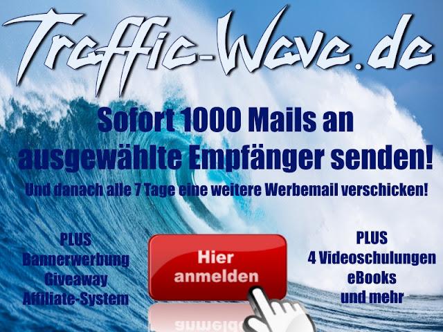 Sofort anmelden bei Traffic-Wave.de
