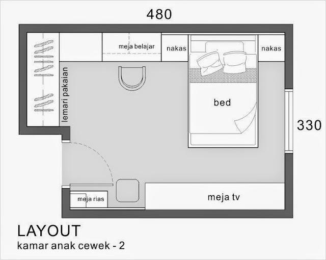 layout arsitek makassar