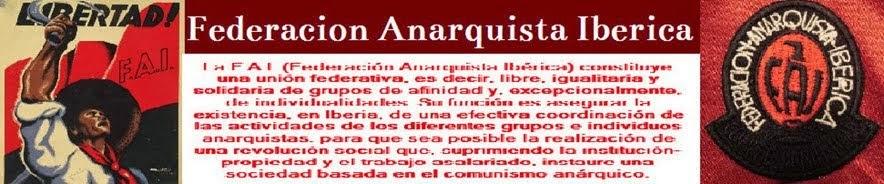 Historia de la Federacion Anarquista Iberica
