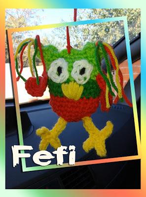 buho tejido - crochet - fefi - amigurumi