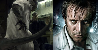Amazing Spider-Man Film - Rhys Ifans is Dr Cunnors aka The Lizard, the movie villain in the Amazing Spider-Man.