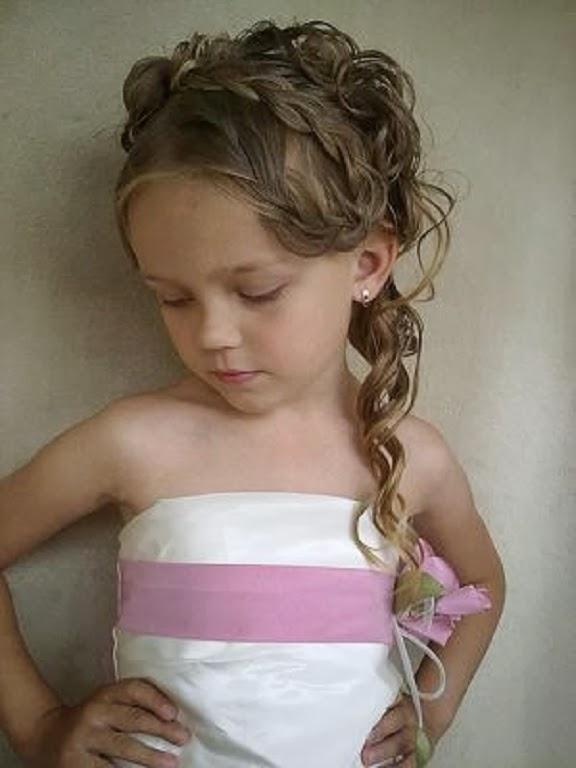 Moda cabellos lindos peinados para ni as en su fiesta de - Que peinados estan de moda ...
