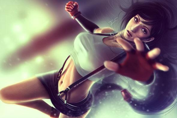 Eddy-Shinjuku deviantart illustrations fan-arts games fantasy
