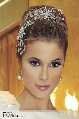Hermosos Peinados Con Accesorios Para Novias 2012 2013 Peinados