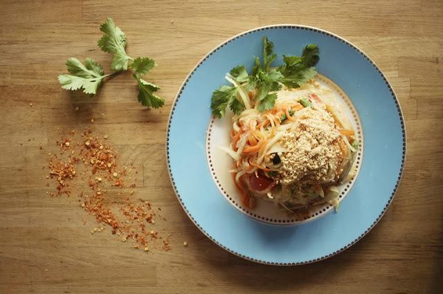 Kapunka resto thai salade papaye verte Paris, rue saint-sauveur nouveau quartier bars restos cool Paris 2eme ThatsMee.fr