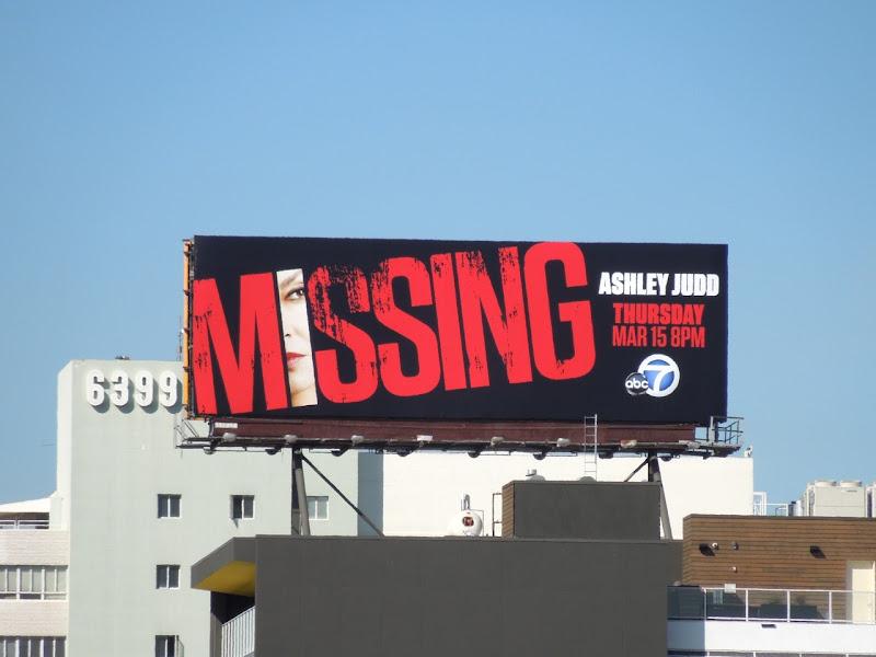 Missing series premiere billboard