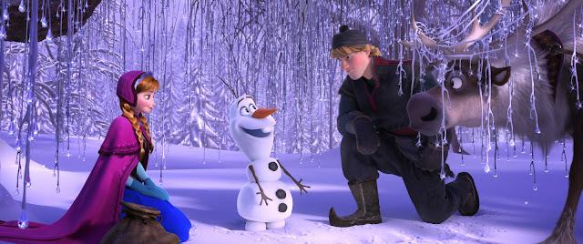 """Cena do filme """"Frozen - Uma Aventura Congelante"""""""