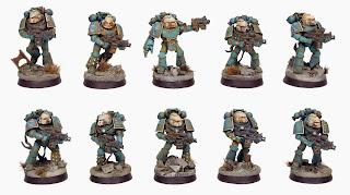 Pre Heresy Alpha Legion Seeker Squad