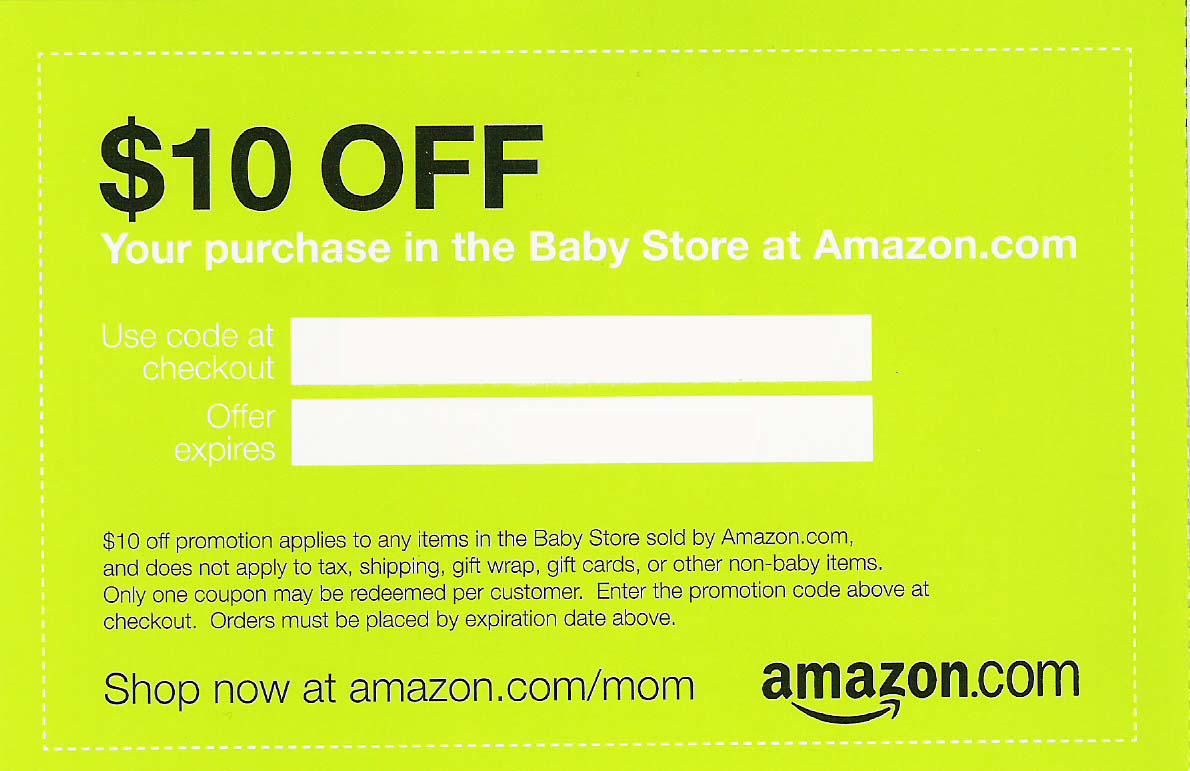 Amazon Family & Baby Registry Sign up for Amazon Family and a Prime account to get special offers, coupons and discounts on family-oriented items. If you aren't a Prime member, you'll get a 5% discount on baby food and diaper subscriptions.