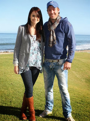 Ab de villiers with wife