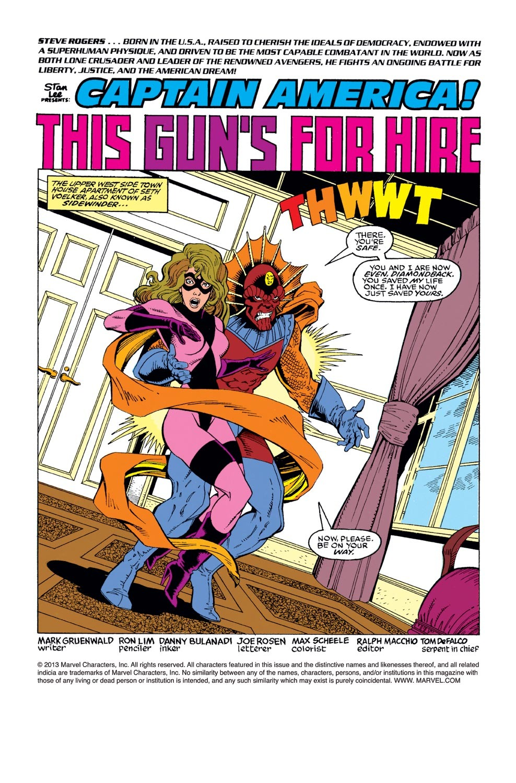 Captain America (1968) Issue #381 #314 - English 2