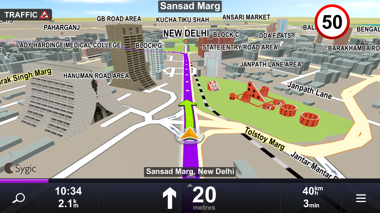 Technology world sygic mapmyindia gps app goes free on google play technology world gumiabroncs Image collections