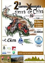 II Carrera por Montaña Sierra de Chiva