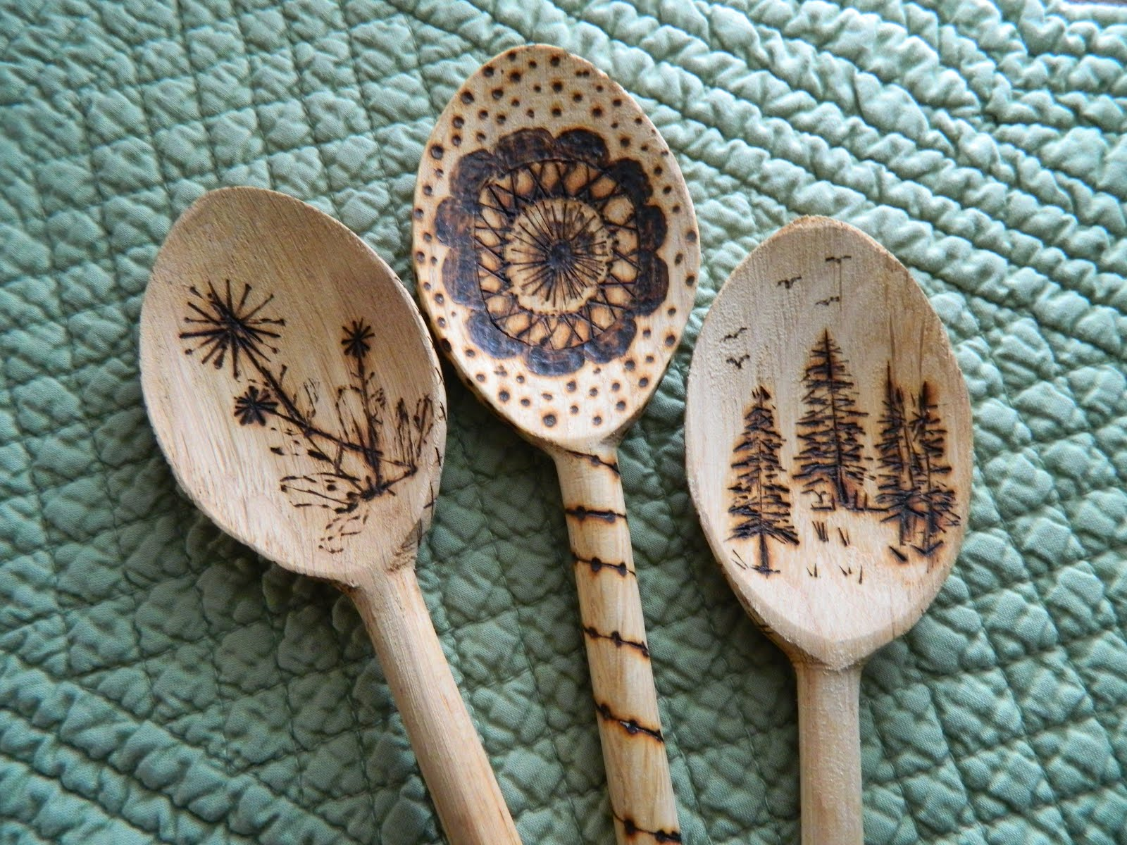 Foothills Of The Great Smoky Mountains Diy Designer Spoons