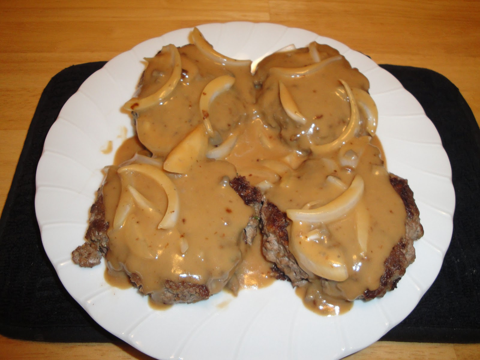 Christine's Pantry: Salisbury Steak