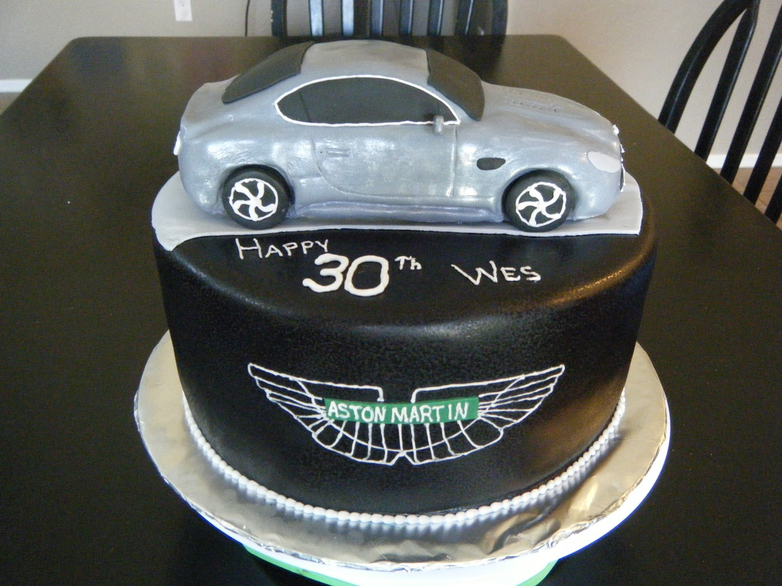 Cassys Cakes Aston Martin Cake