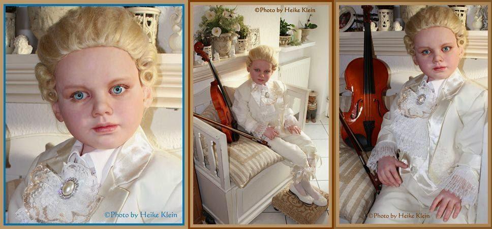 Mozart Art Doll life size