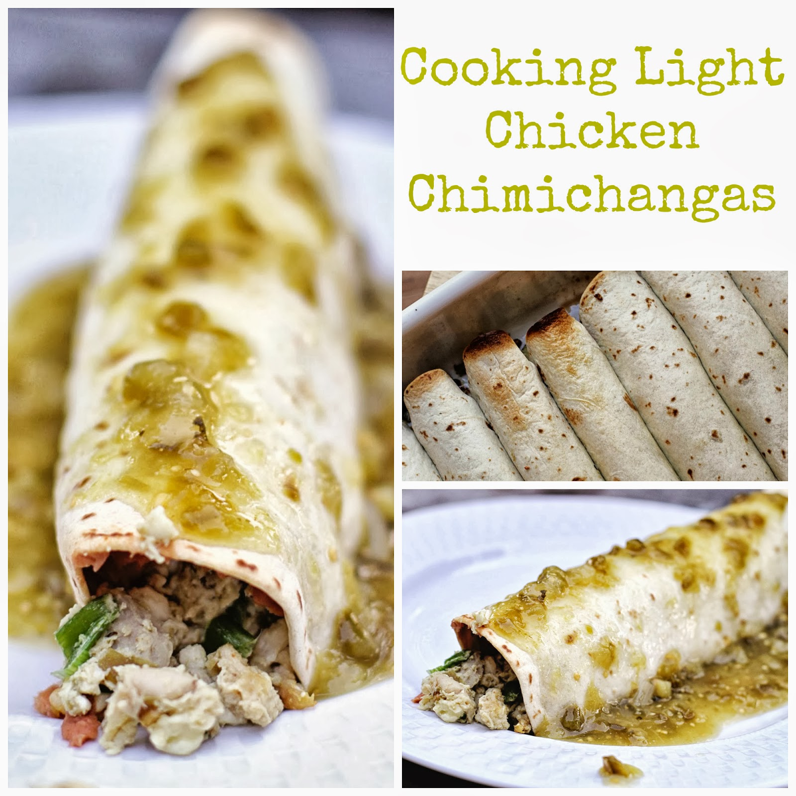 A Million Years Ago (also Known As 2010), I Posted A Recipe For Cooking  Light Chicken Chimichangas That Iu0027d Made For The First Time.