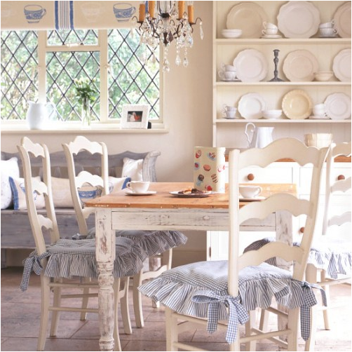 Key interiors by shinay country dining room design ideas for Country style dining room