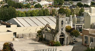 St. Francis Abbey is a 12th Century abbey which now houses the Smithwick's brewing company.