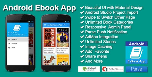 Codecanyon Android Apps Nulled Theme vankigitel Android-Ebook-App-Codecanyon-12371704