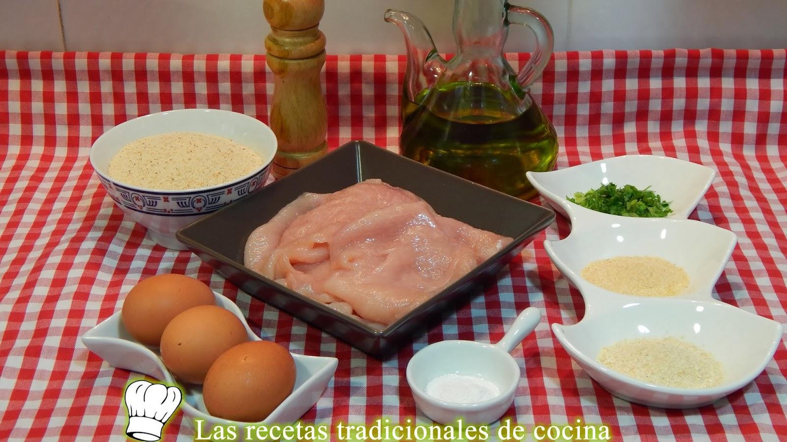 Receta fácil de pechugas de pollo empanadas