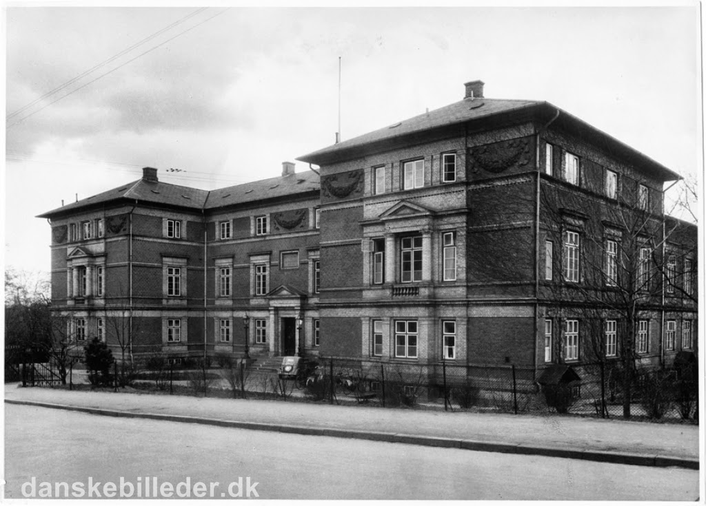 hvor ligger dronning alexandrines hospital