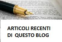 articoli recenti del blog