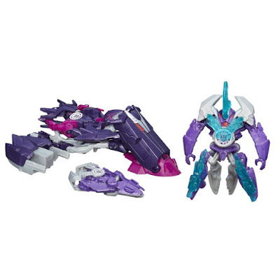 TOYS : JUGUETES - TRANSFORMERS Robots in Disguise Mini-Con desplegadores - Decepticon Fractura & Airazor  Mini-Con Deployers Decepticon Fracture and Airazor Figura - Muñeco | Action Figure Producto Oficial 2015 | Hasbro  B1977 | A partir de 5 años Comprar Amazon España & buy Amazon USA