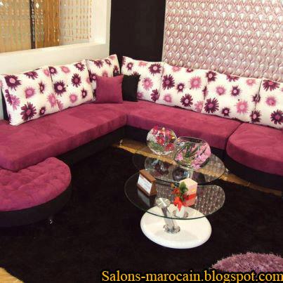fauteuil canap pour les salons marocain moderne f9 2013 - Salon Marocain Moderne Mauve