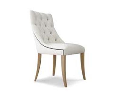 La silla roja for Sillas capitone modernas