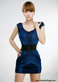 Sexy chinese model Ada Liu Yan