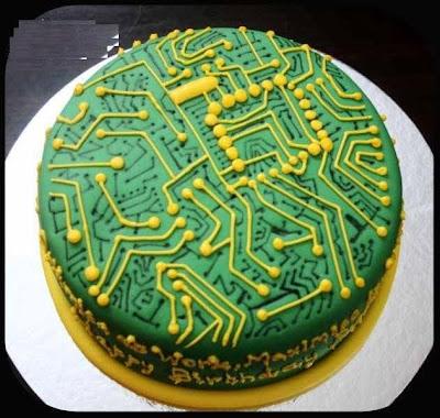 Electronic Circuit Cake