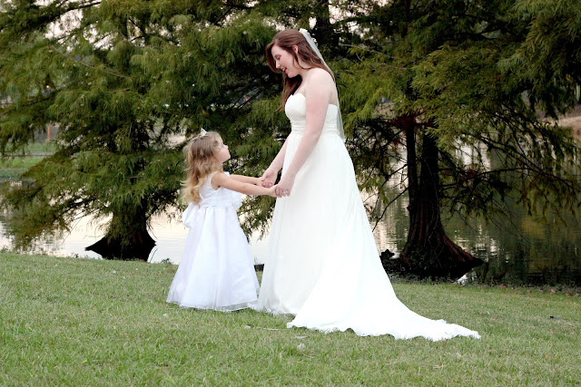 Bridal Pic Holding Hands