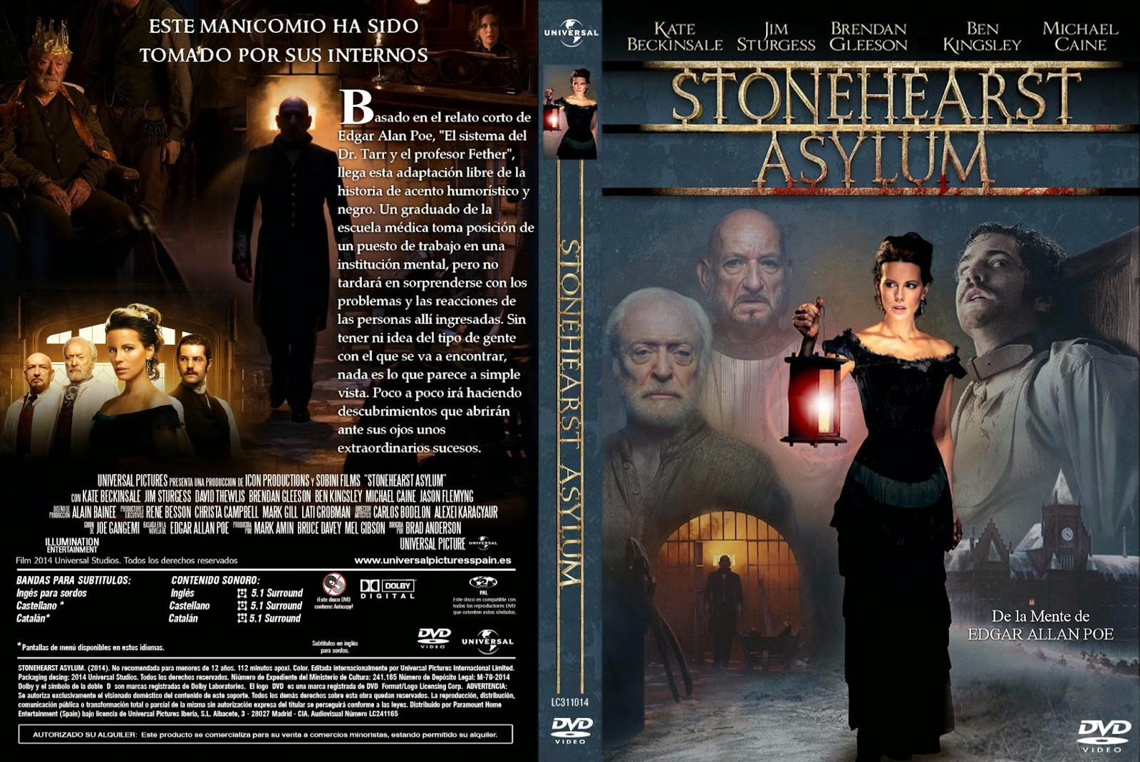Refúgio do Medo BDRip XviD Dual Áudio Stonehearst Asylum   Custom por lolocapri