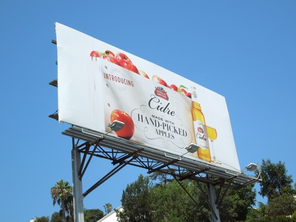 Stella Artois Cidre billboard
