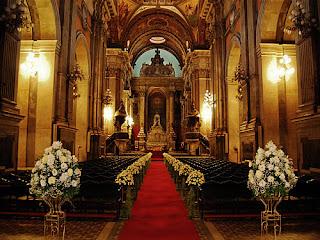 dicas, fotos e imagens de Decoração de Casamento na igreja