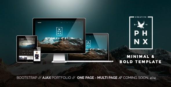 Phoenix Minimal Multipurpose Portfolio Theme