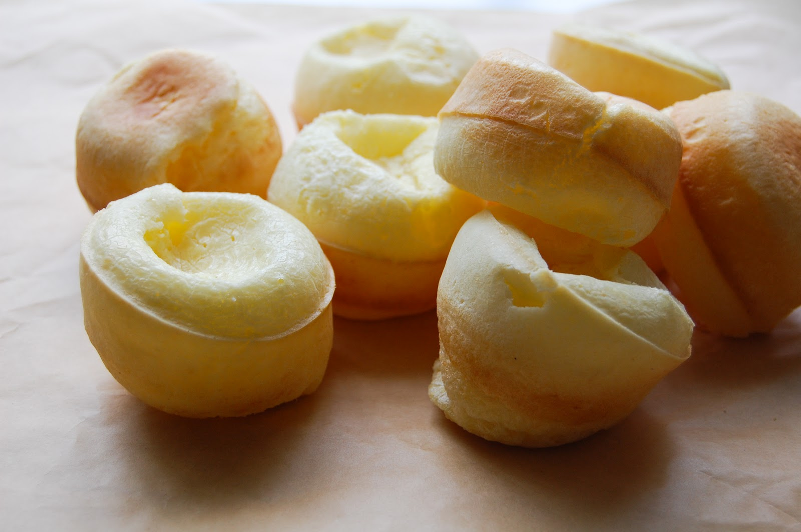 Blogging Foods: Pao de Queijo (Brazilian Cheese Bread) Version II