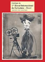 Caricatura no catálogo da Bienal Internacional da Caricatura (RJ) - mostra Caricaturistas SP (2015)