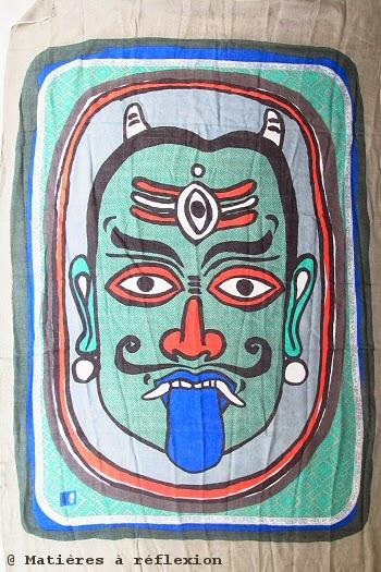 foulard déesse kali mask Mii accessoires