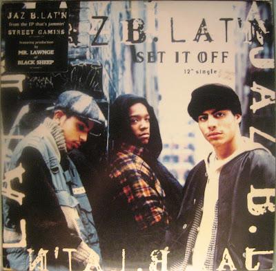 Jaz B. Lat'n – Set It Off (VLS) (1994) (320 kbps)