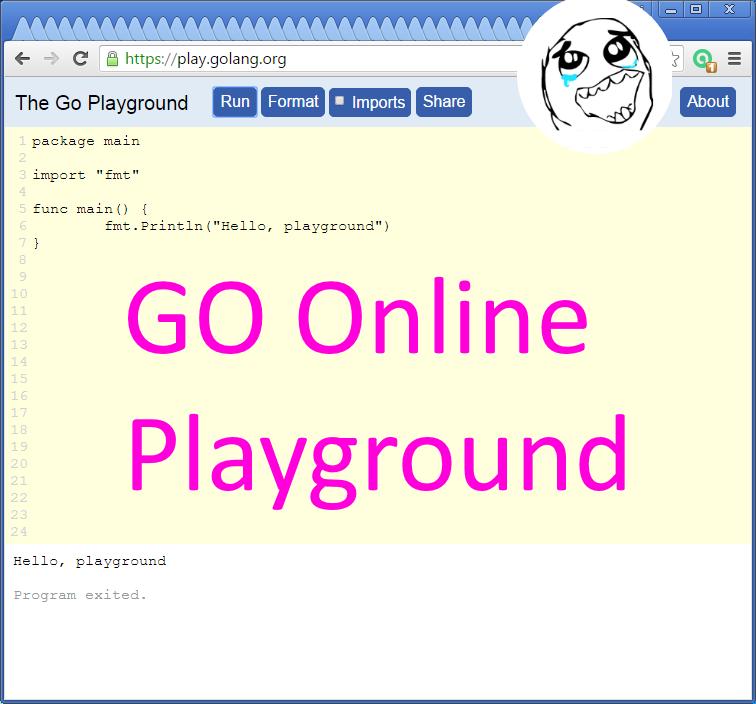 codingtrabla go programming language try go online