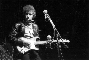 Dylan at 1965 Newport Folk Festival
