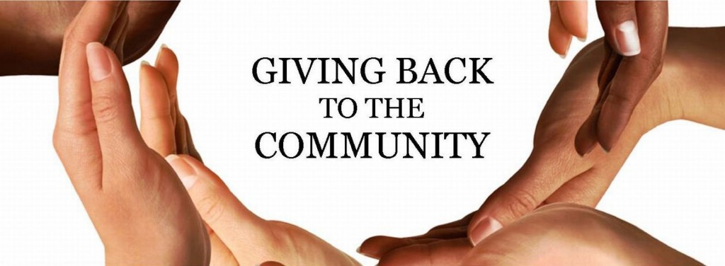 giving back to the community Small business owners are encouraged to give back to the communities they do  business in, especially around the holidays but when you're a global player,.