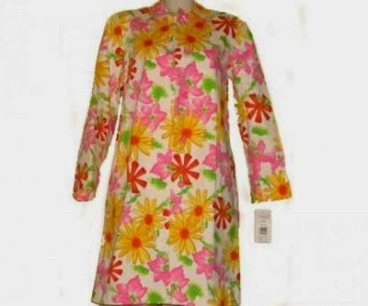 flower power raincoat