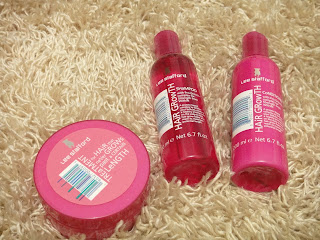 Lee Stafford Hair Growth Shampoo Conditioner and Treatment